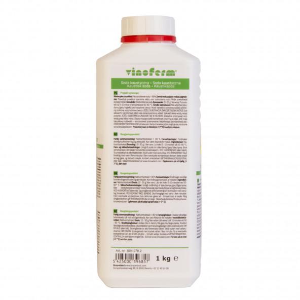 bijtende soda (natriumhydroxide) 1 kg