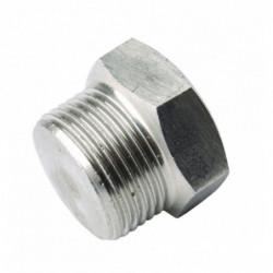 plug threaded 3/8 SS