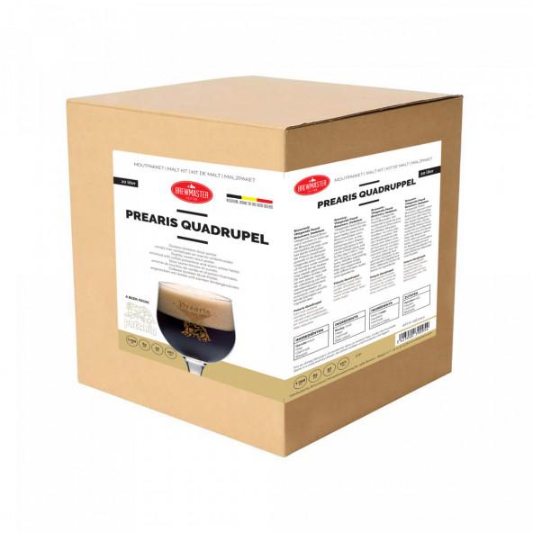 Brewmaster edition moutpakket - Prearis quadrupel - 20 l