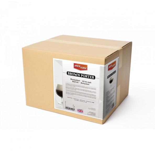 Brewferm moutpakket Brown porter voor 20 liter