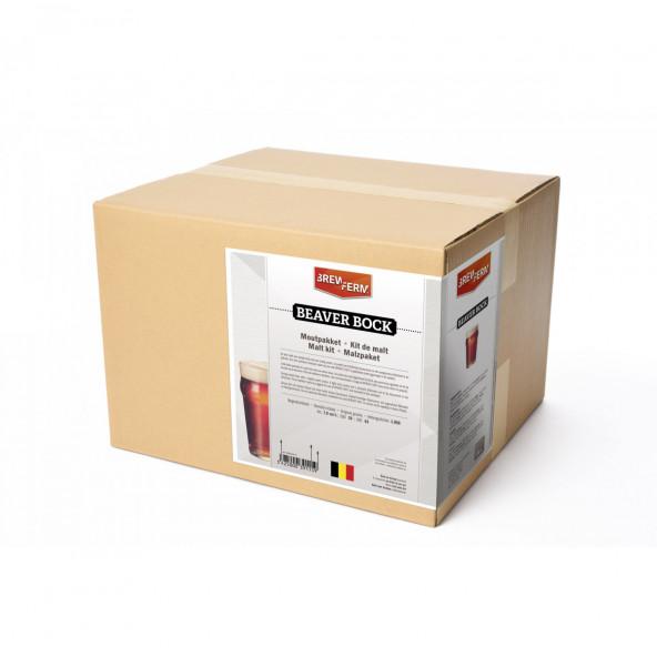 Brewferm moutpakket Beaver bock voor 20 liter