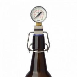 CO2 meter for fliptop bottles