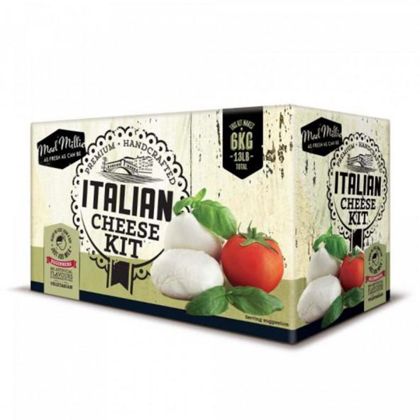 Zelf 6 Italiaanse kaas maken pakket – Mad Millie
