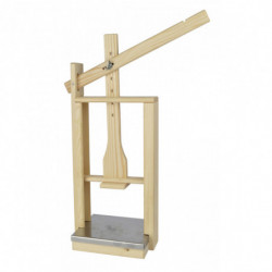 cheese press wood with SST...