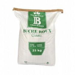 Raw cane sugar dark 25 kg