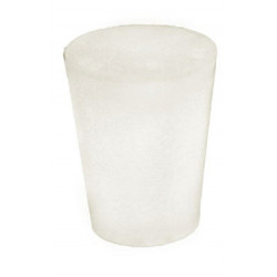 silicone bung 17/22 mm -...