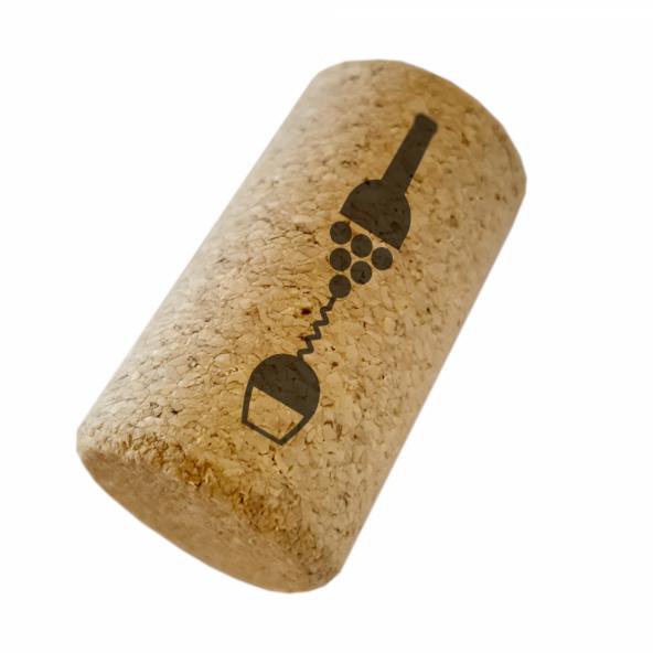 Wijnkurken 38 mm - microgranulaat - 100 st.