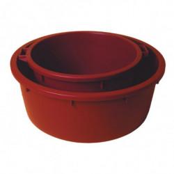 pulpbak ROND 150 l plastic