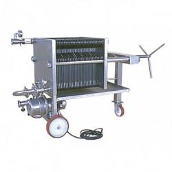 plate filter 4040 SS +pump...