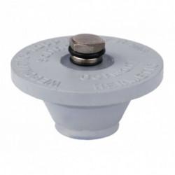 rubber plug with pressure...