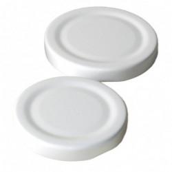 Twist-off lid 48 mm white...