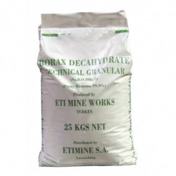 natriumboraat 25 kg (borax)