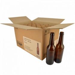 Longneck beer bottle 33 cl,...