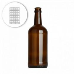 Bierflasche Porter 50 cl -...