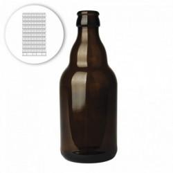 Bierflasche Steinie 33 cl -...