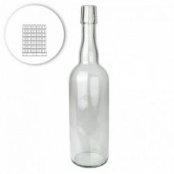 Bügelflasche 75 cl, weiß -...