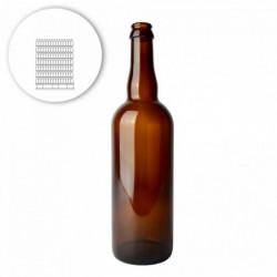 Bierflasche Belge 75 cl -...