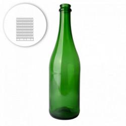Sektflasche Grün 75 cl 560...