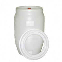 fermenting barrel...