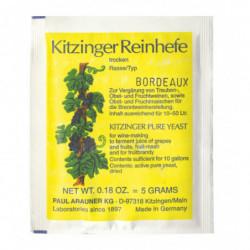 dried yeast Kitzinger...