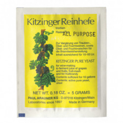 levure seche Kitzinger...