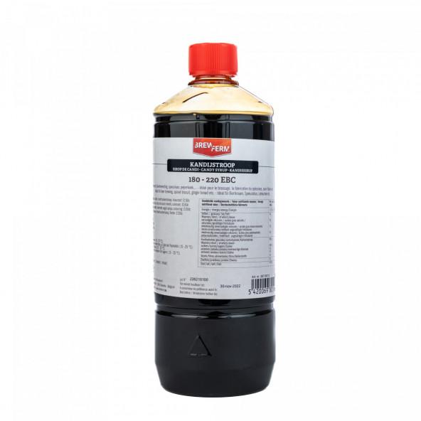 kandijstroop vloeibaar donker 1 l (1,35 kg)