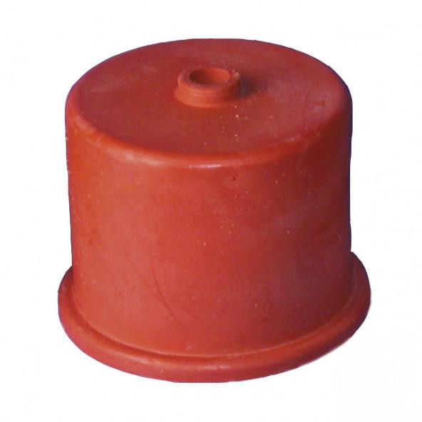 gistkap rubber nr. 3, 35mm, met 9mm gat