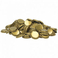 Bouchons couronne 29 mm or...