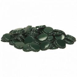 Cown corks 26 mm green 100 pcs