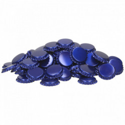 Crown corks 26 mm blue...