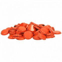 Crown corks 26 mm orange...