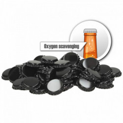 Crown corks 26 mm - oxygen...