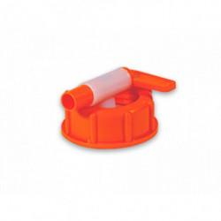 Robinet en plastique orange...
