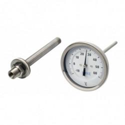 thermomètre analogue pour...