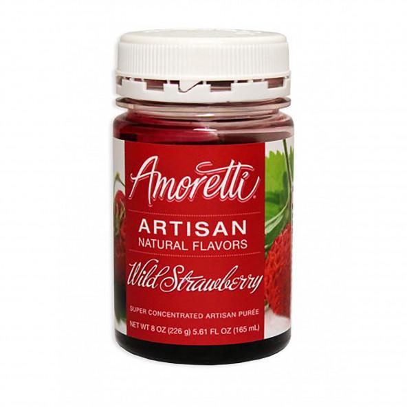 Amoretti - Artisan Natural Flavors - Wilde aardbei 226 g NO-DK-SE-EN