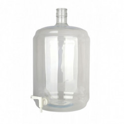 Carboy PET 23 litres with...