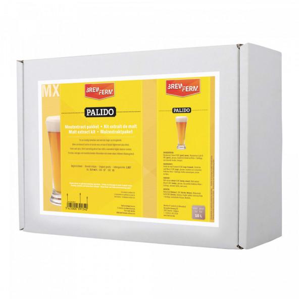 Moutextract pakket Brewferm PALIDO voor 10 l