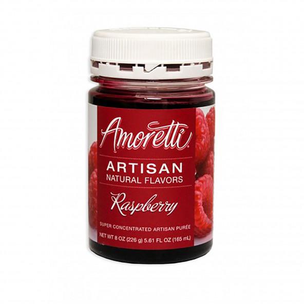 Amoretti - Artisan Natural Flavors - Framboos 226 g NL-FR-DE-EN