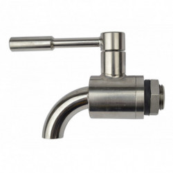 ball valve SS curved 1/2 +...