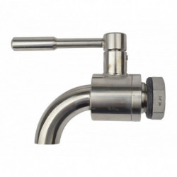 ball valve SS curved 3/4 +...