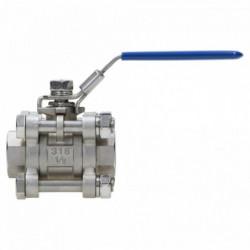 "Three-piece ball valve 1/2"""