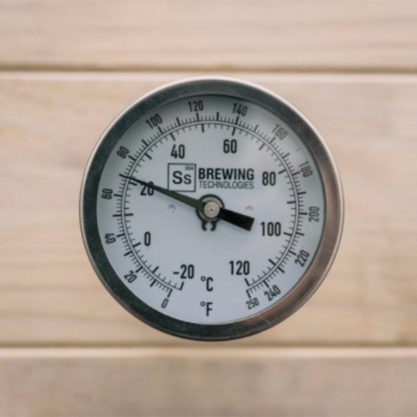 Ss Brewtech Thermometer (met Ss logo) voor TC Kettles (TC Brew Kettle, BME Kettle, eKettle)