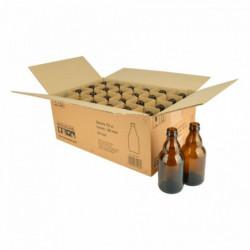 Bierflasche Steinie 33 cl,...