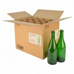 Wijnfles champagne 75 cl,...