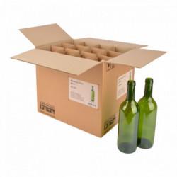 Weinflasche Bordeaux 75 cl,...