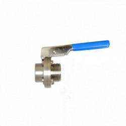 Butterfly valve DN25 gas...
