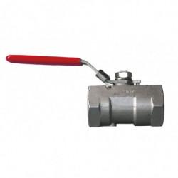 ball valve SS 3/4 F/F straight