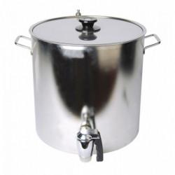 double-walled kettle...