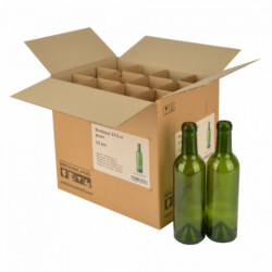 Weinflasche Bordeaux 37,5...
