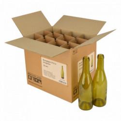 Weinflasche Burgund 37,5...